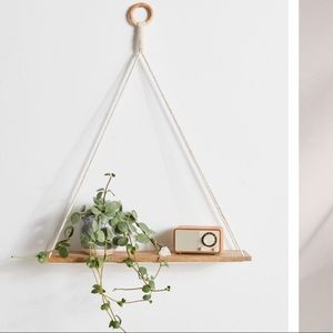 Urban Outfitters Wall Art - Urban Outfitters Hanging Shelf